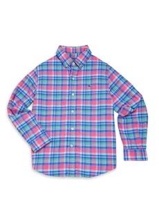 Vineyard Vines Toddler's, Little Boy's & Boy's Plaid Shirt