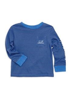 Vineyard Vines Toddler's, Little Boy's & Boy's Stripe Graphic Sweater