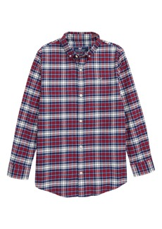 vineyard vines Tower Ridge Flannel Shirt (Big Boys)