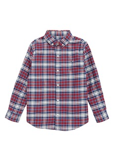 vineyard vines Tower Ridge Flannel Shirt (Toddler Boys & Little Boys)