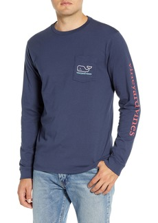 vineyard vines Tricolor Whale Pocket T-Shirt