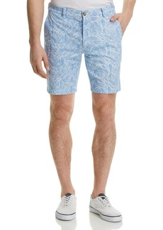 Vineyard Vines Tropical Print Regular Fit Shorts
