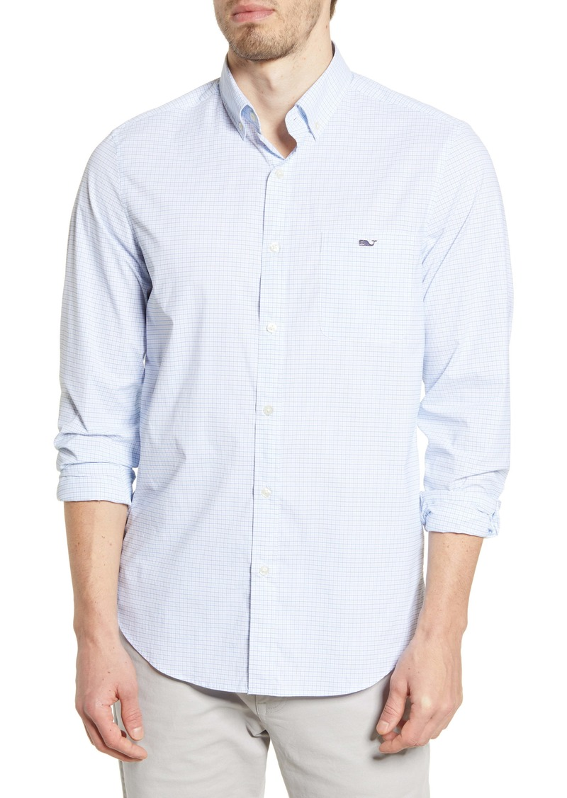 vineyard vines Tucker Classic Fit Button-Down Performance Shirt