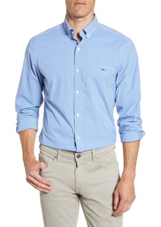 vineyard vines Tucker Classic Fit Check Button-Down Performance Shirt
