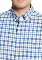 vineyard vines Tucker Classic Fit Plaid Button-Down Performance Shirt