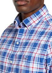 vineyard vines Tucker Classic Fit Plaid Performance Button-Down Sport Shirt