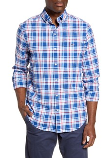 vineyard vines Tucker Classic Fit Plaid Performance Button-Down Sport Shirt