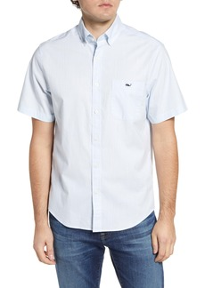 vineyard vines Tucker Classic Fit Short Sleeve Button-Down Shirt