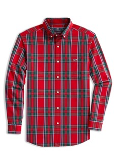vineyard vines Tucker Classic Fit Tartan Plaid Button-Down Shirt