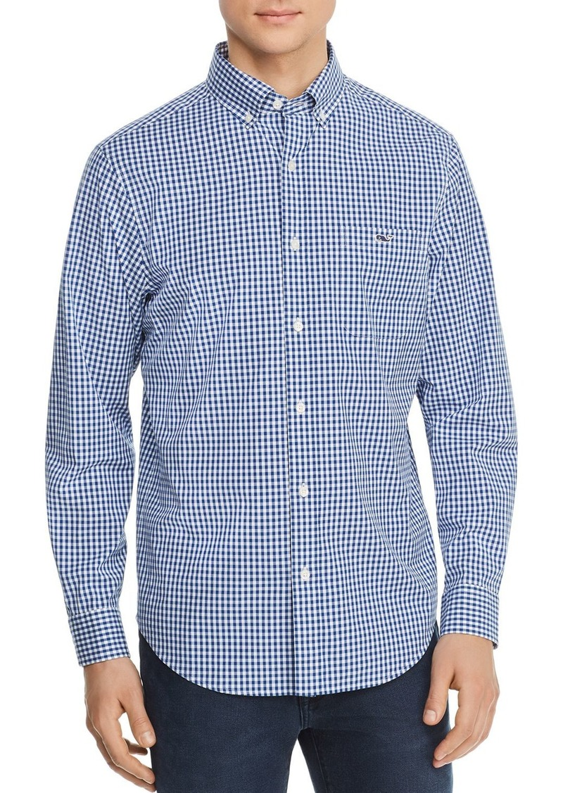 Vineyard Vines Tucker Gingham Classic Fit Button-Down Shirt