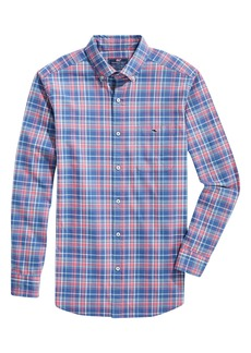 vineyard vines Tucker Lyle Slim Fit Plaid Button-Down Shirt