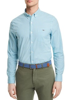 Vineyard Vines Tucker Plaid Oxford Slim Fit Button-Down Shirt