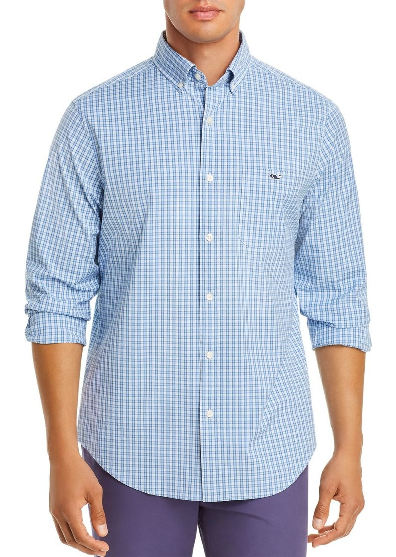 Vineyard Vines Tucker Plaid Poplin Classic Fit Button-Down Shirt