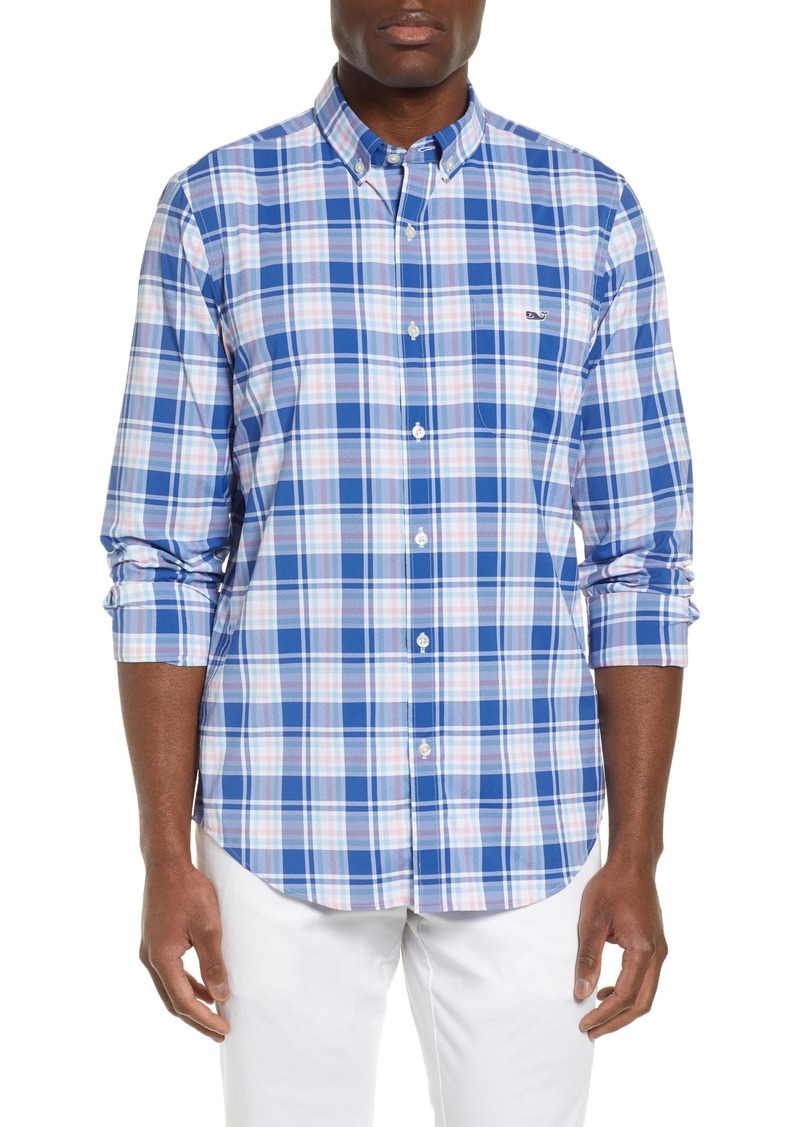 vineyard vines Tucker Regular Fit Belmond Plaid Sport Shirt