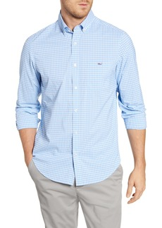 vineyard vines Tucker Regular Fit Plaid Performance Button-Down Shirt