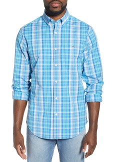 vineyard vines Tucker Regular Fit Plaid Sport Shirt