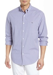 vineyard vines Tucker Classic Fit Plaid Stretch Shirt