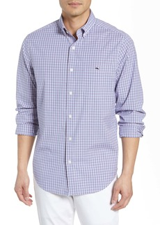 vineyard vines Tucker Regular Fit Plaid Stretch Shirt