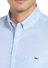 vineyard vines Tucker Slim Fit Fish Waves Shirt