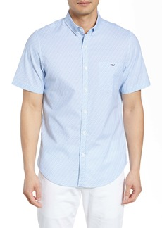 vineyard vines Tucker Slim Fit Fish Waves Shirt