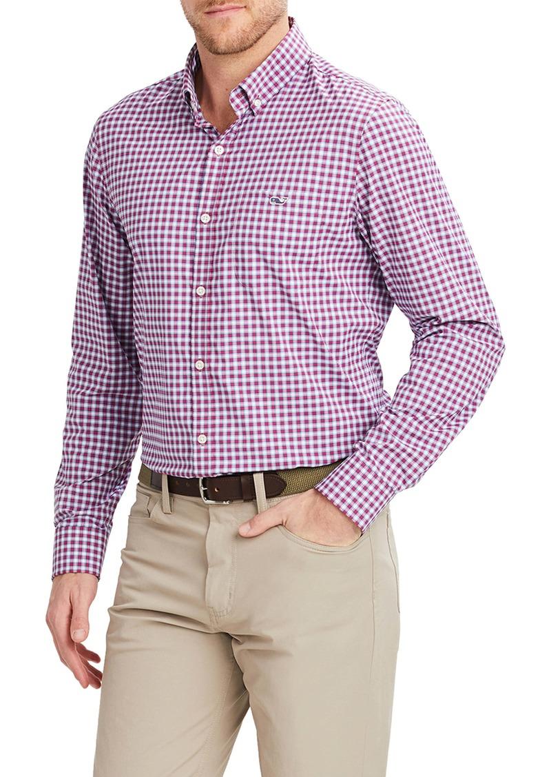vineyard vines Tucker Slim Fit Plaid Button-Down Performance Shirt