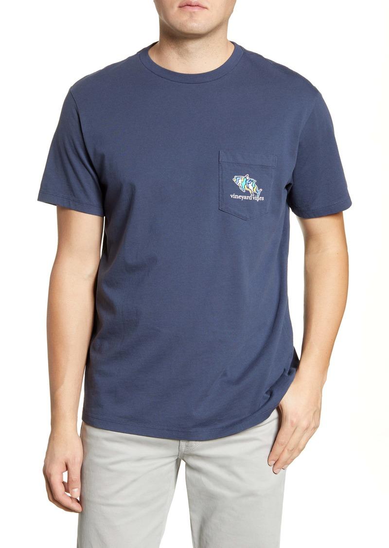 vineyard vines Tuna Icon Fill Pocket T-Shirt