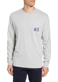 vineyard vines USA Bus Board Long Sleeve T-Shirt