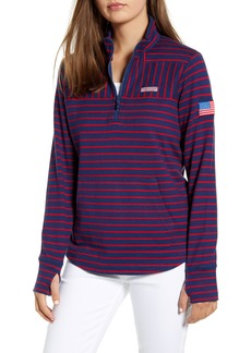 vineyard vines USA Mix Stripe Pullover