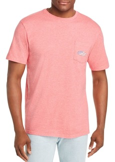 Vineyard Vines USA Surf Logo-Graphic Pocket Tee