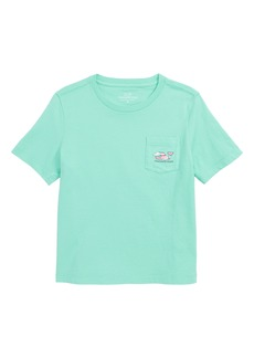 vineyard vines Vacation Whale Pocket T-Shirt (Big Boys)