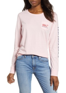 vineyard vines Valentine's Day Pocket Tee