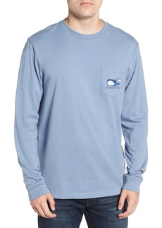 vineyard vines Vampire Whale Pocket T-Shirt