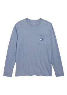 vineyard vines Vampire Whale Pocket T-Shirt (Big Boys)
