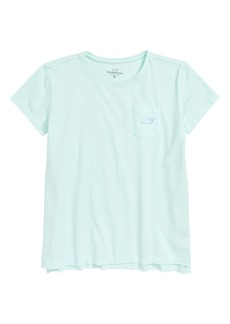 vineyard vines Vintage Whale Cotton Tee (Toddler Girls, Little Girls & Big Girls)