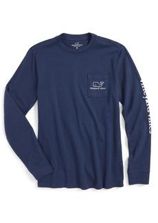 vineyard vines Vintage Whale Graphic Long Sleeve T-Shirt (Big Boys)