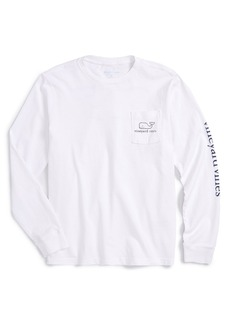 vineyard vines Vintage Whale Graphic Long Sleeve T-Shirt (Big Boys)