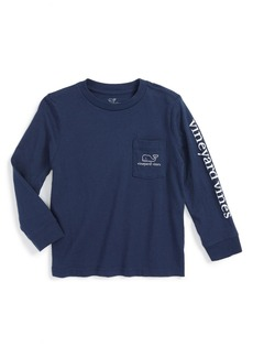 vineyard vines Vintage Whale Graphic Long Sleeve T-Shirt (Toddler Boys & Little Boys)