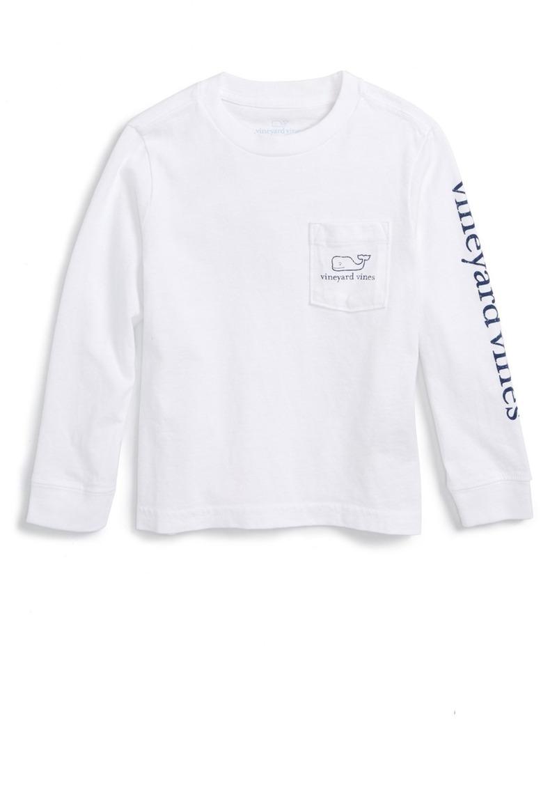 912a7c70 'Vintage Whale' Graphic Long Sleeve T-Shirt (Toddler Boys & Little Boys). Vineyard  Vines