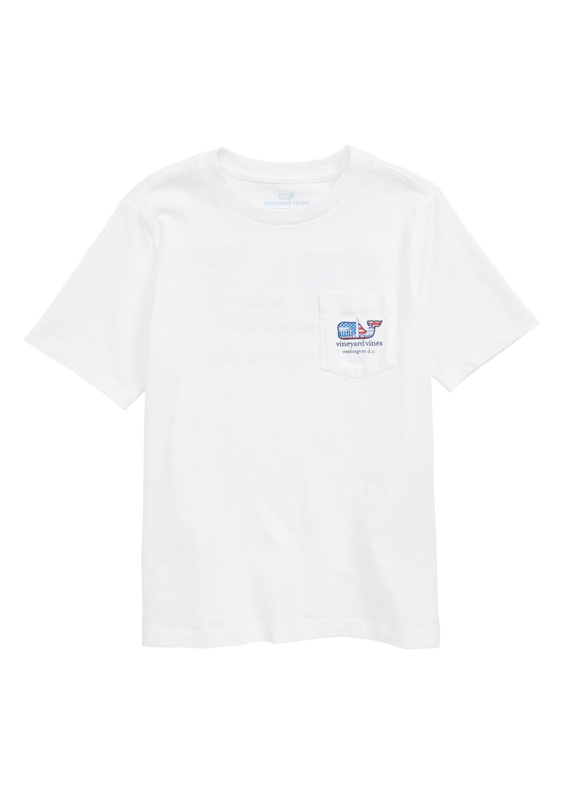 vineyard vines Washington Whale Pocket T-Shirt (Toddler Boys, Little Boys & Big Boys)