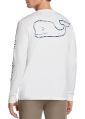 Vineyard Vines Whale Graphic Long Sleeve Pocket Tee