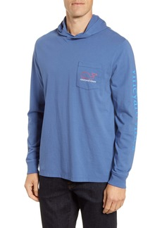 vineyard vines Whale Hooded Pullover Shirt