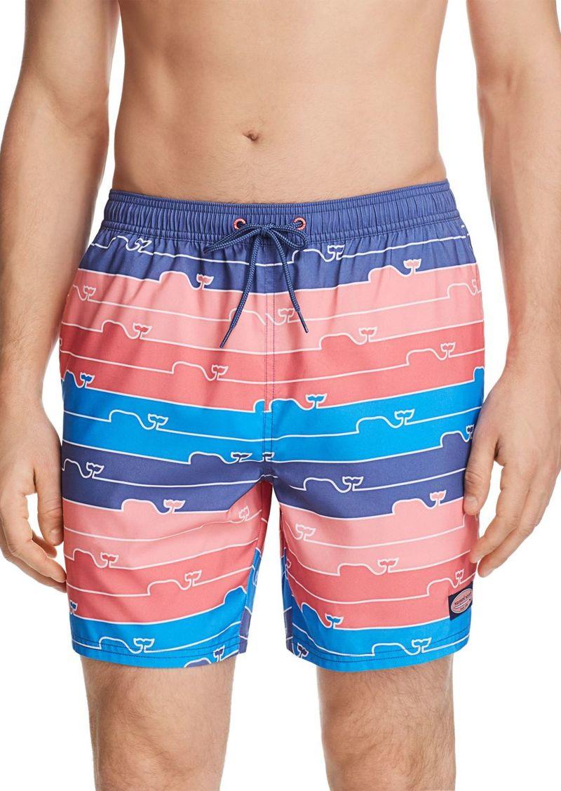 4d9e180a31 Vineyard Vines Vineyard Vines Whale Line Chappy Swim Trunks | Swimwear