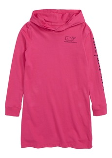 vineyard vines Whale Pocket Hooded Cover-Up Dress (Toddler Girls)