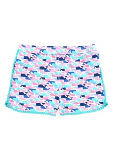 vineyard vines Whale Print Shorts (Toddler Girls, Little Girls & Big Girls)