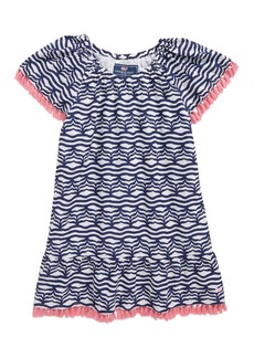 vineyard vines Whale Tail Wave Dress (Toddler Girls)