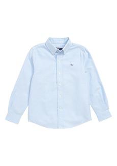 Vineyard Vines Woven Oxford Shirt (Toddler Boys & Little Boys)