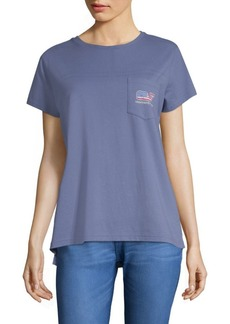 Vineyard Vines Vintage Whale Relaxed Cotton Pocket Tee