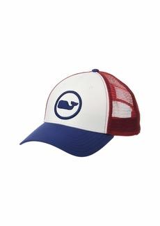 Vineyard Vines Vineyard Vines Whale Dot Puff Embroidered Trucker Hat ... 7255e03a099
