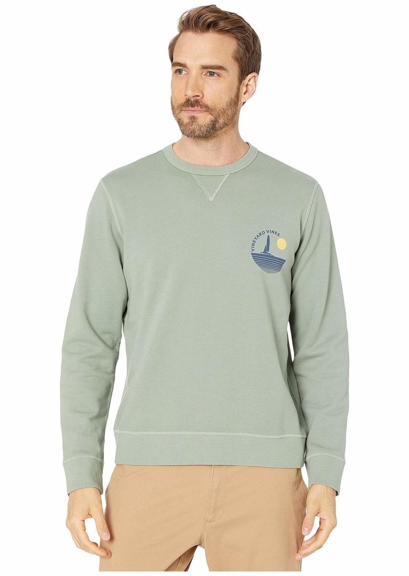 Vineyard Vines Woodhouse Garment-Dyed Crew Sweatshirt