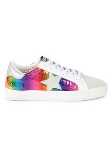 Vintage Havana Cleo 2 Glitter Rainbow Star Sneakers